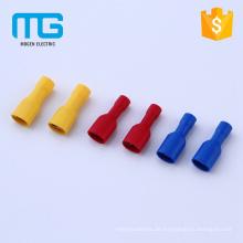 Isolierte automotiv2-Stift-Crimpverbinder mit PVC-Isolierung, verkupfert