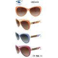 Cinco colores de las gafas de sol del acetato (HMS449)