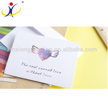 Customized Shape!High Quality Beautiful Paper Greeting Card,ISO9001:2008