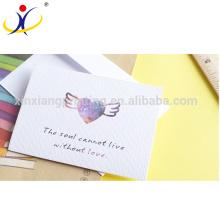 Индивидуальные Формы!Высокое качество красивые бумажные открытки,сертификаты ISO9001:2008