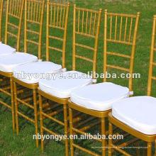 Chine usine Chaise en résine or résine Tiffany