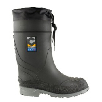 Labor PVC Factory Plain-Toe Worker Safety Rain Boots