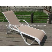 plage en plein air chaise longue chaise jardin textoline sunlounger