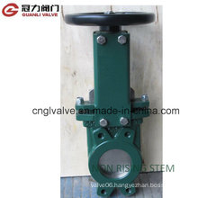 Non-Rising Stem Knife Gate Valve for Water Treatment Industry