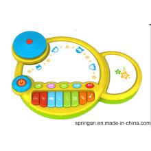 Bateria e Piano Musical Insturment Brinquedos