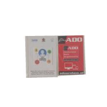 Adesivo de pacote de opp de limpador de tela de microfibra personalizado