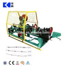 Machine à fil barbelé torsadé inversé à double fil à grande vitesse