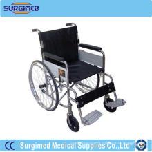 Cadeira de rodas hospitalar médica para deficiência física