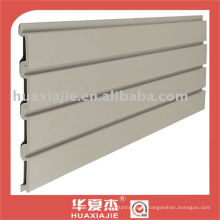PVC slatwall panel /garage wall panel