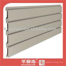 PVC slatwall painel / painel de parede de garagem