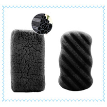 Magic Bamboo Charcoal Face Cleaning Konjac Sponge