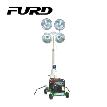 Diesel Generator Portable Flood Telescopic Light Tower