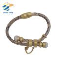 Custom cheap stainless steel jewelry Single Bangle Designs New Style Cheap Wholesale Adjustable Bracelet