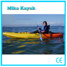 One Seat Plastic Canoe Sit on Top Ocean Fishing Kayak Sale