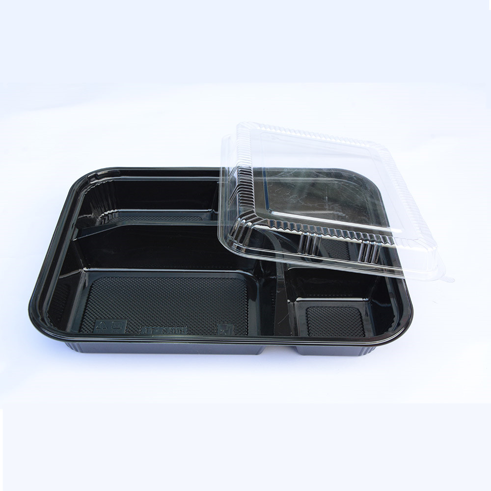 5 Department Disposable Container