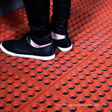 Commercial Hollow Safety Anti Slip Rubber Interlocking Kitchen Floor Tiles