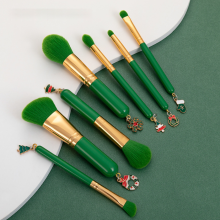 7pcs Christmas style best brand makeup brushes