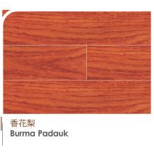 High-End Birmânia Original Padauk Engineered e Laminat Flooring