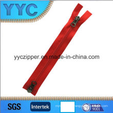 Double Way Dynamic Type Plastic Zipper 5# for Bag