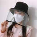 Protective mask face shield surgical mask medical hat