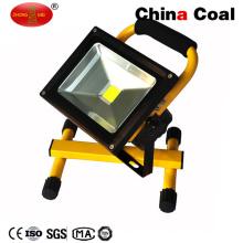 Lámparas de inundación recargables impermeables al aire libre de alta calidad del LED