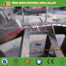 Double Twist Galvanized Barbed Wire Made in China