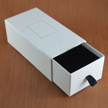 Caixa de gaveta de óculos relógio personalizado