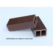 Umweltschutz, grün, Holz Kunststoff Composite WPC Leitplanke