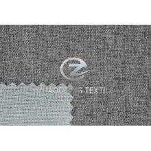 Cachemira de algodón pegada con tejido de punto para sofá