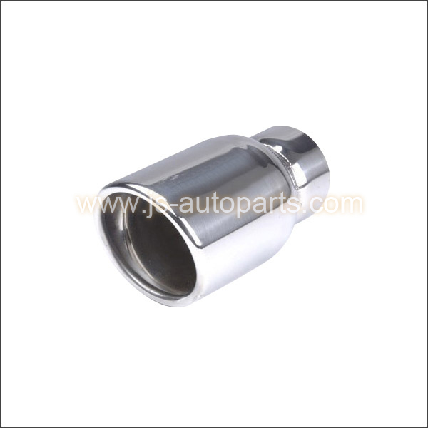 DOUBLE WALL ROUND SLANT STAINLESS STEEL EXHAUST  TAIL PIPE