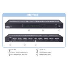 4k y 3D compatibles V1.4 Multi puertos 8 puertos HDMI Splitter