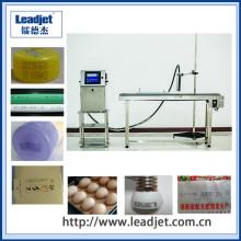 Impressora a jacto de tinta de data de vencimento da indústria de tintas à base de tinta LED Leadjet V98