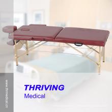 Mesa plegable de madera del masaje (THR-WT003A)