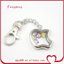 Apple novelty design locket key chain wholesale