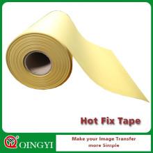 Cinta de la transferencia del silicón del arreglo caliente amarillo al por mayor de la fábrica de China