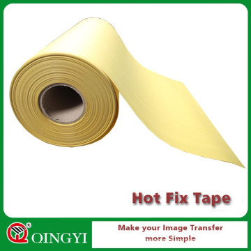 China factory Wholesale yellow hot fix silicone transfer tape