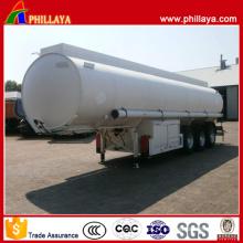 Reboque do depósito de gasolina dos eixos do aço carbono 3 de 30-50 Cbm