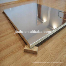 Henan manufacture silver mirror aluminum composite material