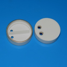 Alumina Metalized Isolator for Brazing Assembly