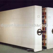 Storage file of mobile shelf system
