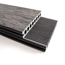 Modern Design Aging Wood Effect WPC Flooring Outdoor Engineered Composite Decking