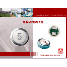 Bunter Aufzug Druckknopf für Kone (SN-PB512)