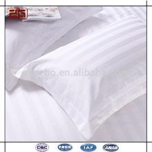 La fábrica caliente de la venta hizo el 100% algodón 300T 3 cajas de la almohadilla del hotel de la raya