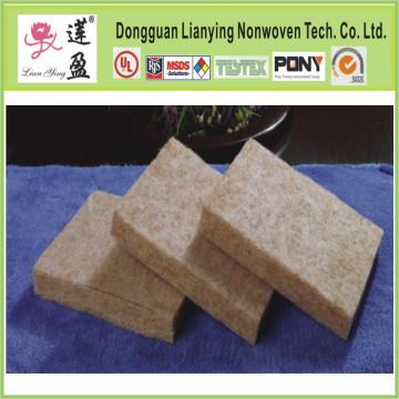 Coussinets de chaleur en fibre de bambou utilisés pour matelas, toit, coussin