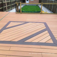 hardwood pine outdoor wpc decking board wood flooring