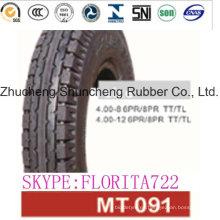 (4.00-8) deber Motor neumático de la motocicleta
