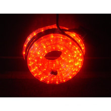 Luz de la cuerda del LED (rojo de 2 alambres)