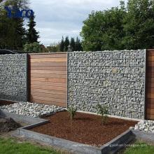 galvanisierter Gabionen-Steinkäfig Dichtung Gabion-Korb-Stützmauer, Steinkörbe für Stützmauern 2.0mm
