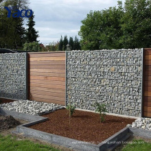 гальванизированное gabion камень клетка печать Корзина gabion сохраняя стены , каменные корзины для подпорных стенок 2.0 мм