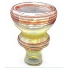 Handgefertigte farbige große Shisha Keramik Kopf Shisha Bowl